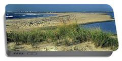 New Jersey Inlet  Portable Battery Charger by Sally Weigand