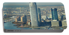 New Jersey Skyline Portable Battery Charger