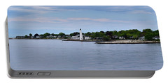 New London Harbor Lighthouse Portable Battery Charger