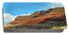 New Mexico Landscape Portable Battery Charger by Gina Savage