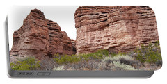 Portable Battery Charger featuring the photograph New Mexico Red Rock Mountain Canyon by Andrea Hazel Ihlefeld