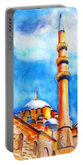 New Mosque Istanbul Portable Battery Charger