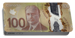 New One Hundred Canadian Dollar Bill Portable Battery Charger