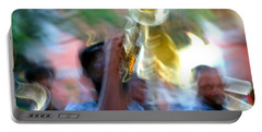 New Orleans Abstract Street Jazz Performance Portable Battery Charger