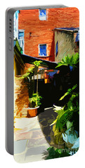 New Orleans Back Door Portable Battery Charger