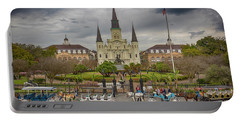 New Orleans Jackson Square Portable Battery Charger