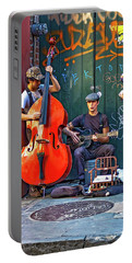 New Orleans Street Musicians Portable Battery Charger