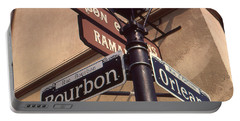 New Orleans Street Signs Portable Battery Charger
