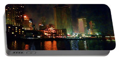 New Orleans Waterfront Portable Battery Charger