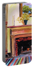 New Painting Over The Mantel Portable Battery Charger