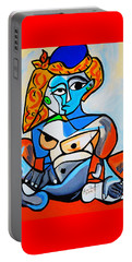 New  Picasso By Nora  Nude Woman With Turkish Bonnet Portable Battery Charger