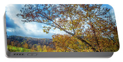 New River In Fall Portable Battery Charger