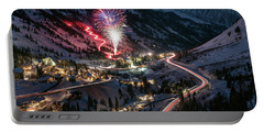 New Year's Eve At Snowbird Portable Battery Charger