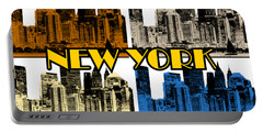 New York 4 Color Portable Battery Charger