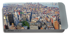 New York Aerial View Portable Battery Charger