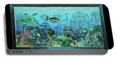 New York Aquarium Portable Battery Charger by Bonnie Siracusa
