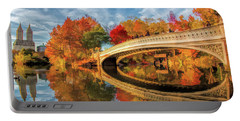 New York City Central Park Bow Bridge Portable Battery Charger