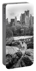 New York City Central Park Ice Skating Portable Battery Charger