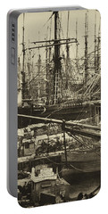 New York City Docks - 1800s Portable Battery Charger