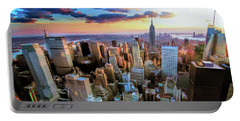 New York City Downtown Manhattan Portable Battery Charger