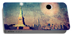 New York City Solar Eclipse 2017  Portable Battery Charger