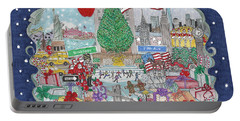 New York City Holiday Portable Battery Charger