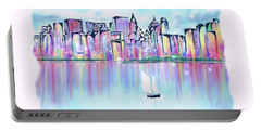 New York City Scape Portable Battery Charger
