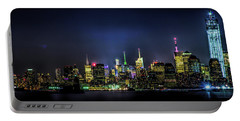 Portable Battery Charger featuring the photograph New York City Skyline by Theodore Jones