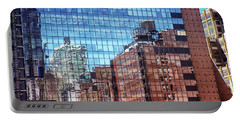 New York City Skyscraper Art 4 Portable Battery Charger by Judi Saunders