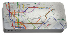 New York City Subway Map Portable Battery Charger