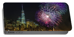 New York City Summer Fireworks Portable Battery Charger