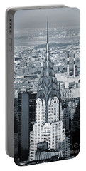 New York City - Usa - Chrysler Building Portable Battery Charger