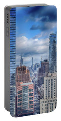 New York Cityscape Portable Battery Charger by Dyle Warren