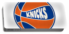 New York Knicks Retro Shirt Portable Battery Charger