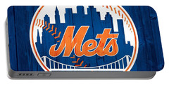 New York Mets Barn Door Portable Battery Charger