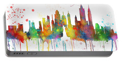 New York Ny Skyline Portable Battery Charger