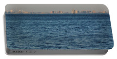 Portable Battery Charger featuring the photograph New York Skyline by Robbie Masso