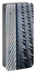 New York Skyscraper-baccarat Tower Portable Battery Charger by Joseph J Stevens
