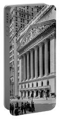New York Stock Exchange Circa 1904 Portable Battery Charger