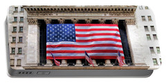 New York Stock Exchange Flag Portable Battery Charger