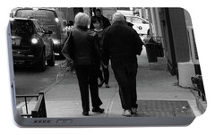 Portable Battery Charger featuring the photograph New York Street Photography 75 by Frank Romeo