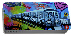 New York Train Portable Battery Charger