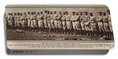 Portable Battery Charger featuring the photograph New York Yankees 1916 by Daniel Hagerman