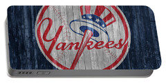 New York Yankees Barn Door Portable Battery Charger