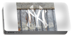 New York Yankees Rustic 2 Portable Battery Charger