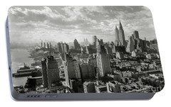 New Your City Skyline Portable Battery Charger by Jon Neidert