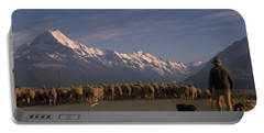 New Zealand Mt Cook Portable Battery Charger