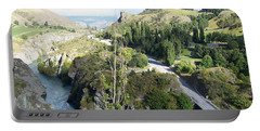 New Zealand Scene Portable Battery Charger by Constance DRESCHER