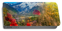New Zealand Southern Alps Montage Portable Battery Charger