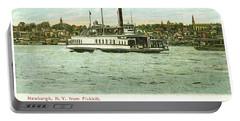 Newburgh Steamers Ferrys And River - 24 Portable Battery Charger
